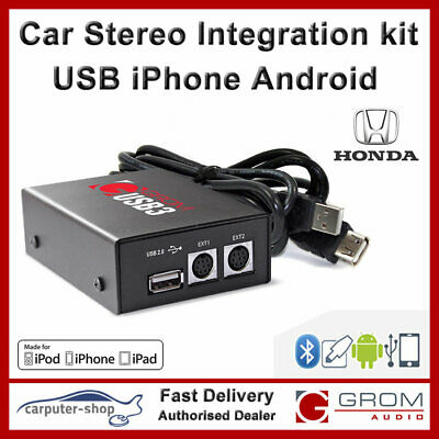 USB MP3 Android iPhone adapter for HONDA ACCORD CIVIC CRV HRV FRV INTEGRA #HON1