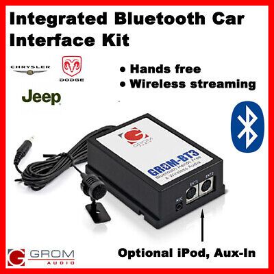 Grom BT3 Integrated Bluetooth kit 2002-05 CHRYSLER DODGE JEEP CHEROKEE LIBERTY