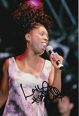 Heather Small Hand Signed 12x8 Photo M People 3.