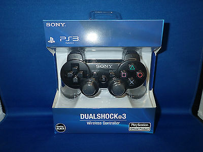 New Black Wireless Bluetooth Controller for PS3 Third Party Made.