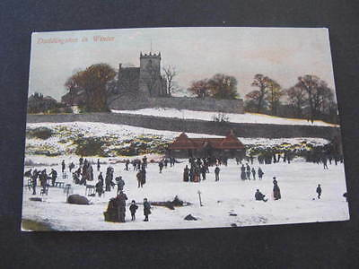 Duddingston in Winter 1911 Postcard postally used