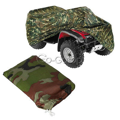 Camouflage Camo ATV Storage Cover All Weather XL Fit Yamaha Grizzly 550/660/700