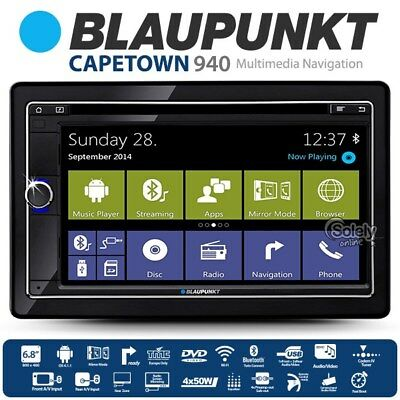 Blaupunkt Cape Town 940 Android OS Double DIN Car Stereo DVD Player GPS Ready