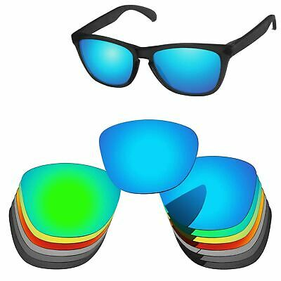 PapaViva Polarized Replacement Lenses For-Oakley Frogskins Sunglass Multi-Option