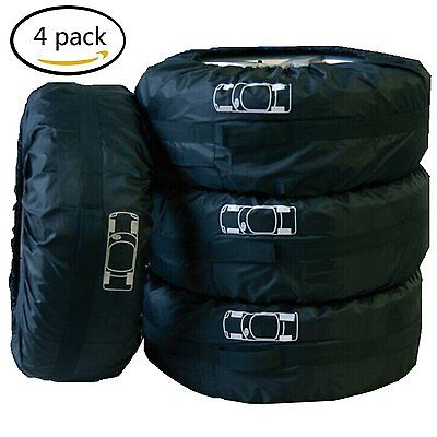 Seasonal Spare Tyre Tire Storage Protection Cover Carry Tote Bag Car SUV Pickup