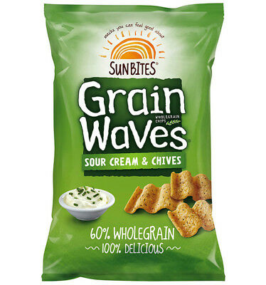 Grainwaves Sour Cream and Chives 90g x 10