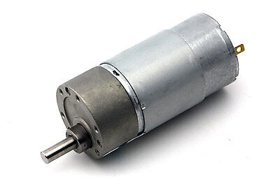 DC 12V 300RPM Electric Gear Motor Speed Reduction High Torque w/ Metal Gearbox