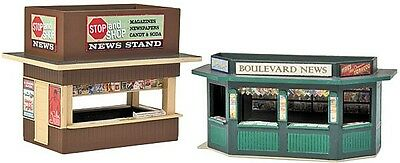 Walthers News-stands x 2 - #933-3773 - HO model train accessories
