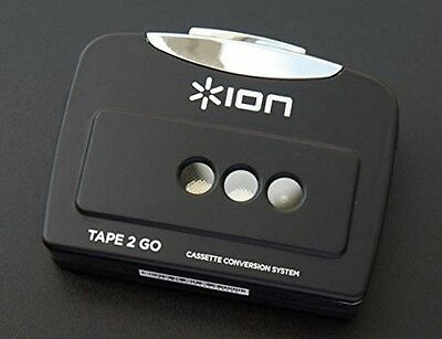 Ion Audio Tape 2 GO | Portable Analog to MP3 Digital Cassette Converter / Mac