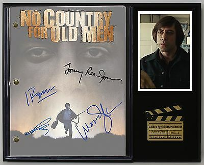 """No Country For Old Men Ltd Reproduction  Movie Script Cinema Display """"c3"""""""