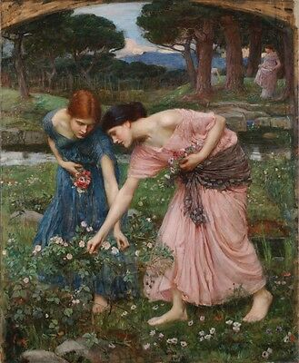 Ölbilder Ölgemälde Waterhouse, John William  57x70cm