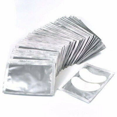 LOTS Gel Eye Pads Patch Comfy Curved Lint Free Eyelash Extension Mask Eyepads