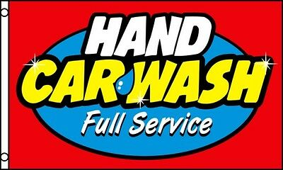 HAND CAR WASH Flag 3x5 ft Business Advertising Sign Banner