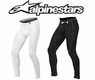 Alpinestars ZX Nomex Bottoms, FIA Approved, Anthracite/White, Fire-retardant