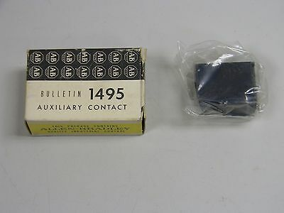 New Allen Bradley 1495-N8 Ser A Auxiliary Contact Kit