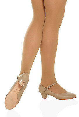 So Danca CH50 Women's Size 7.5 Wide Tan Character Shoe