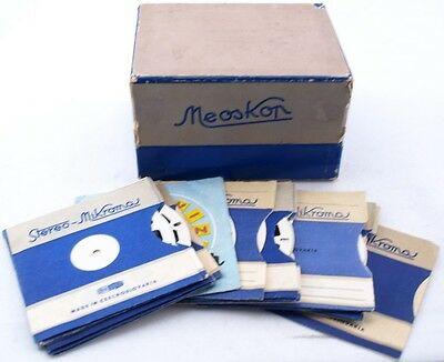 Vintage Czechoslovak View Master Meoskop Meopta 17 Photo Slides