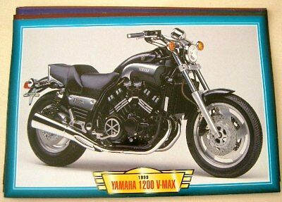 Yamaha 1200 V-Max 1999 Motorbike Picture Print 1990's Muscle Bike Motorcycle