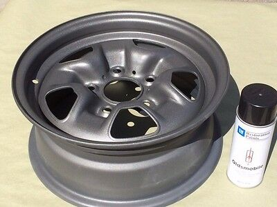Gm Licensed Ssii Argent Gray Wheel Paint Oldsmobile Cutlass 442 1971 1972