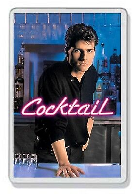 Cocktail Classic Tom Cruise Dvd Movie Fridge Magnet Uk Seller