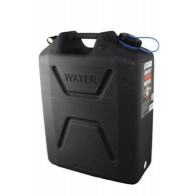 Black Wavian Australian Water Jerry Can - 5 Gallon (22 Liters) - BRAND NEW