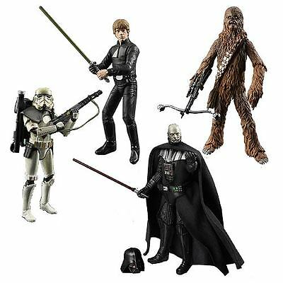 "Star Wars Black Series Hasbro 6"" Figures Chewbacca, Vader, Troopers,ObiWan"