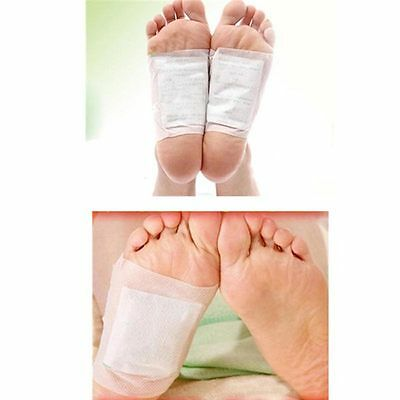 10 Pairs Detox Foot Pad Patches Plaster Remove Harmful Body Toxins Health Care
