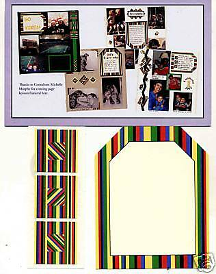 Creative Memories Tty Tag#1 Page Completion Kit Bnip