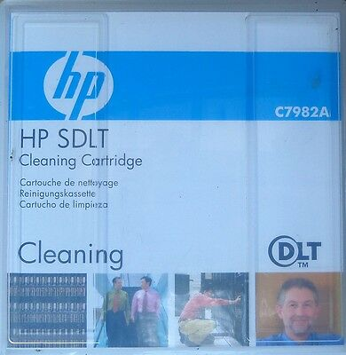 New HP SDLT Cleaning Cartridge C7982A