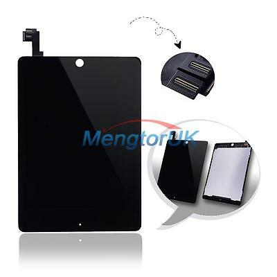 Black LCD Screen Touch Digitizer Assembly Parts For Apple iPad Air 2 2nd iPad 6
