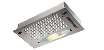 Tecnowind Silver Contract Canopy extractor hood 520mm