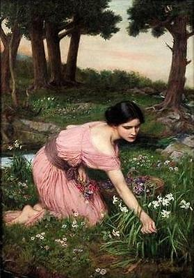 Ölbilder Ölgemälde John William Waterhouse 50x72cm