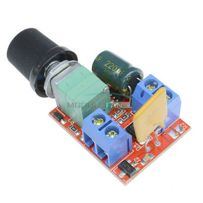 Mini 5A Motor PWM Speed Controller DC 3-35V Switch LED Dimmer Speed Control