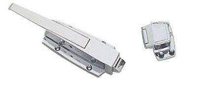 Heavy Duty Walk In Door Latch with Strike W38 1000