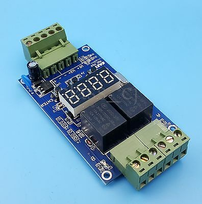 24V Programmable Timer Cycle Control Delay Relay Module Time Switch