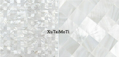 11Pcs square bathroom tile backsplash shower white mother of pearl shell mosaic