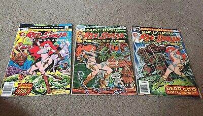 Marvel Feature Presents Red Sonja She-Devil with a Sword #3 [1976] 4.5 VG