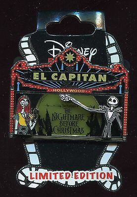 DSSH Nightmare Before Christmas Stained Glass Marquee LE 400 Disney Pin 111698