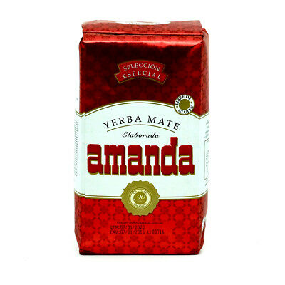Amanda Yerba Mate Tea Special Selection 500g - Produced in Argentina