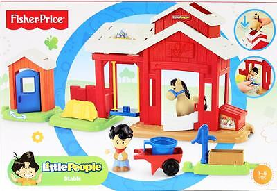 Fisher Price Little People Horse Stable Play Set  New