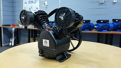 Air Compressor Pump 12Cfm. Suit 2.2Kw 3Hp Motor. 120Psi. For 75-120L Tank