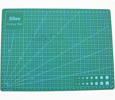 Self Healing Non Slip Craft Quilting Printed Grid Lines Board Cutting Mat New
