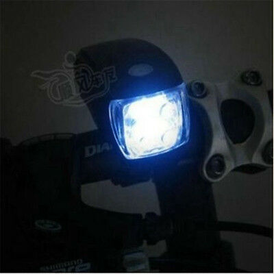1Pcs 5LED Cycling Bike Bicycle Front Head Light Lamp Flashlight For Night Riding