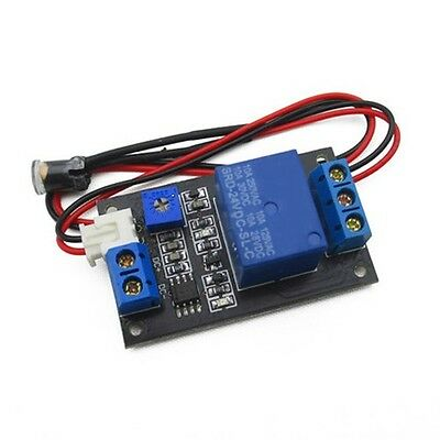 12V Photoswitch Photoresistance LDR Photoresistor + Relay Module Light Detect