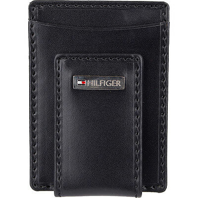 Tommy Hilfiger Accessories Fordham Front Pocket Wallet Mens Wallet NEW