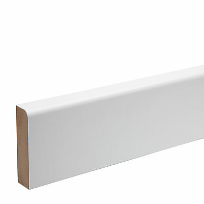 Pre Finished Bullnose Architrave Boards (KOTA) MDF 68mm x18mm x 4.4 mtr Free P&P