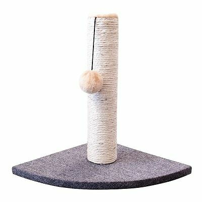Corner Cat kitten Scratching Post Pole Acty Play Climbing Hard Wearing Sisal UK