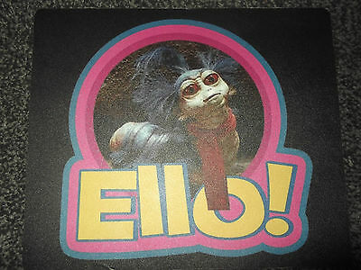Jim Hensons Labyrinth Ello Worm Mouse Mat *great Gift* Uk Seller