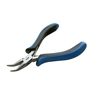"Waymil Bent Nose Ergonomic Pliers 5"" Jewelry Pliers, Beading, Hobby, Wire Work"