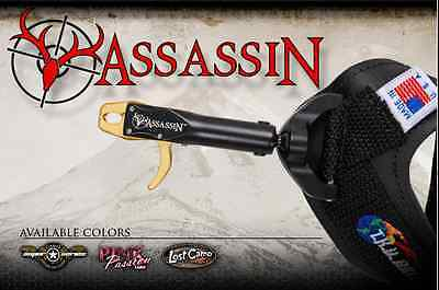 T.R.U. Ball Assassin Release Aid for compound Bow with Speed Buckle Made in USA